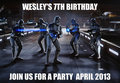 wes party - star-wars fan art