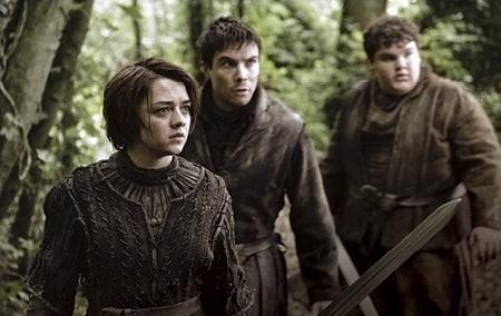 Arya and Gendry Season 3