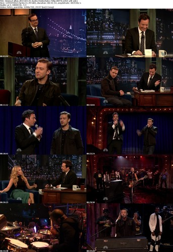 ★ JT on Latenight w/Jimmy Fallon ☆