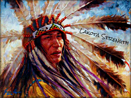 NATIVE PRIDE wallpaper called ★ Lakota Strength ☆
