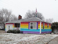 """Rainbow House"" - gay-rights photo"