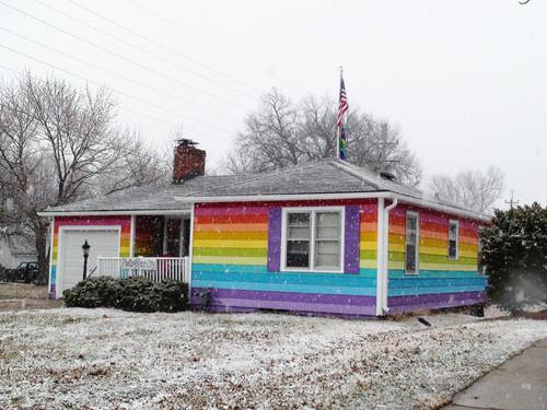"""""""Rainbow House"""""""