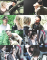 【Rick&Andrea】 - the-walking-dead fan art