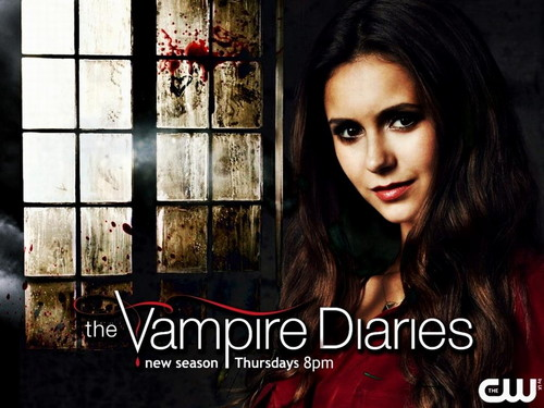 The Vampire Diaries پیپر وال probably containing a portrait called The Vampire Diaries