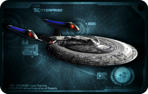 «USS Enterprise NCC-1701 E»