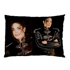 A Vintage Michael Jackson Throw Pillow