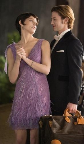 অ্যালিস্ কুলেন দেওয়ালপত্র possibly with a ককটেল dress, a business suit, and a well dressed person entitled Alice Breaking Dawn