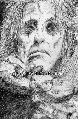 Alice Cooper- Sketch