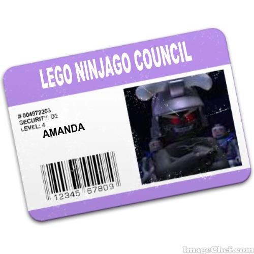 Amanda's ID