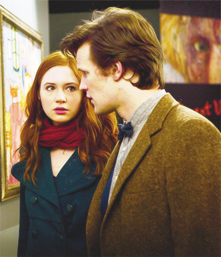 Amy, The Doctor and Rory