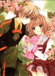anime Couple Sakura and Syoaran