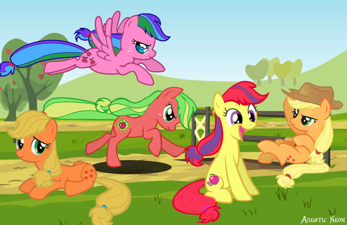Applejack and her ancestors