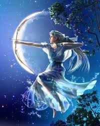 Artemis Goddess of The Moon.
