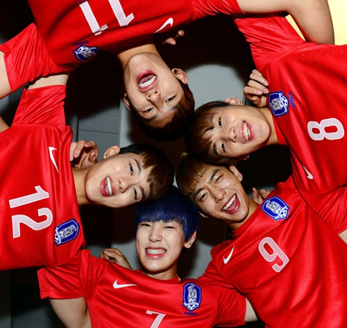 B.A.P for Korea Women's Football Federation
