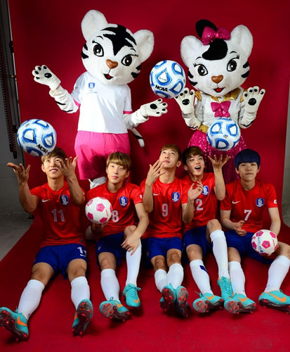 B.A.P for Korea Women's Football Federation