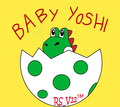 Baby Yoshi Just Hatched! - yoshi fan art