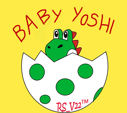 Baby Yoshi Just Hatched!