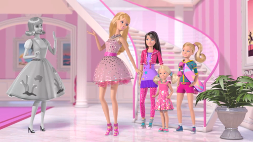 barbie life in the dreamhouse- A smidge in Midge