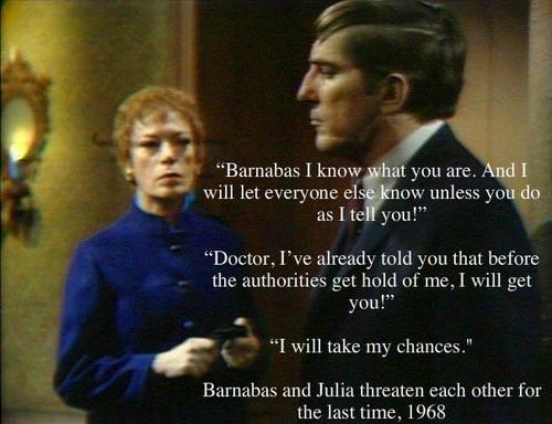 Barnabas and Julia  Fan Art