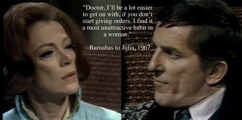 Barnabas and Julia fã Art