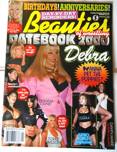 anterior diva wwe...debra fondo de pantalla with anime entitled Beauties of Wrestling Cover