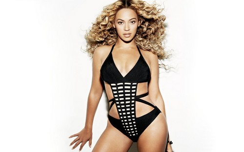 Beyonce پیپر وال with a maillot titled Beyonce Shape Magazine