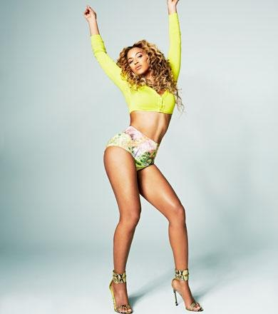 Beyonce for Shape Magazine