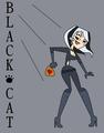 Black cat - total-drama-island fan art