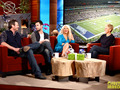 Blake and Adam with Ellen and Christina