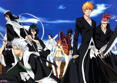 Kuchiki Byakuya Hintergrund entitled Bleach Scans