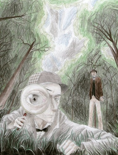 Sherlock Holmes wallpaper called Boscombe valley mystery