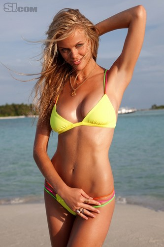 swimsuit si wallpaper containing a bikini called Brooklyn Decker: 2010 Issue
