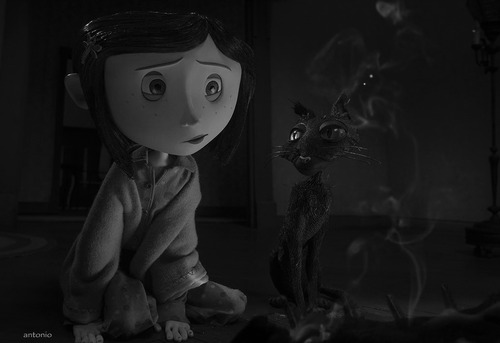 Coraline fond d'écran titled Burning the Doll