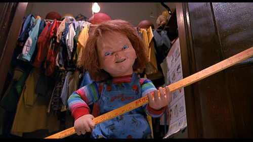 CHUCKY WANTS TO schiaffo, smack YOU!