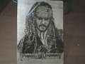 Captain Jack Sparrowpyrography - captain-jack-sparrow fan art
