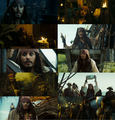 Captain Jack - pirates-of-the-caribbean fan art