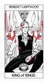 Cassandra Jean's Tarot Cards: Benedict Lightwood {King of Rings}. - the-infernal-devices photo