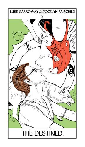 Cassandra Jean's Tarot Cards: Luke & Jocelyn {The Destined}.
