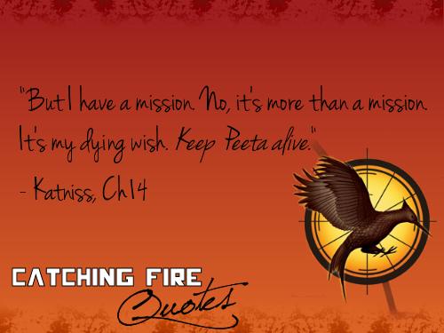 Catching fuoco Citazioni