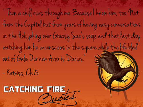 Catching Fire wallpaper possibly with a sign and anime called Catching Fire quotes