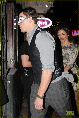 Channing & Jenna out in New Orleans