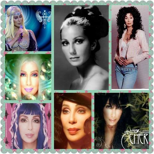 Cher grid photo