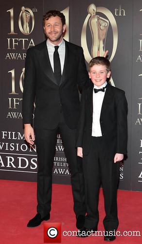 Chris O'Dowd and Moone Boy Cast