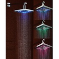Chrome LED Rain Shower Head