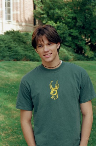 Jared Padalecki wallpaper containing a jersey entitled Close to Home (2001)
