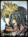 Cloud Strife in Love - final-fantasy fan art