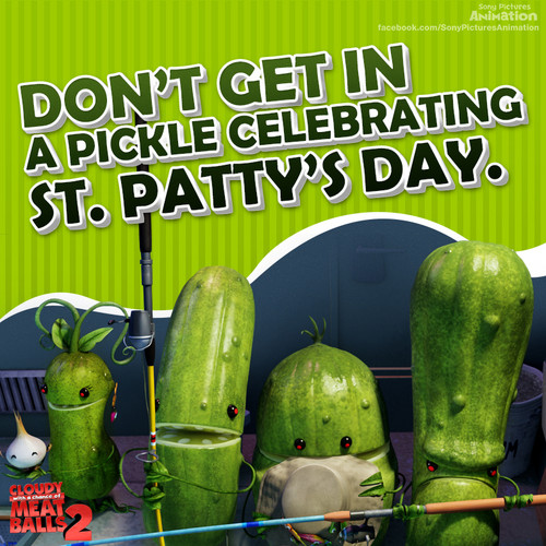 Cloudy 2 St. Patrick's Day eCard