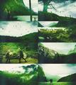 Colour Meme → Vikings (1.01 Rites Of Passage) + green.