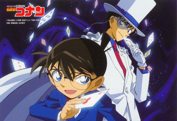 Conan and Kaito !!