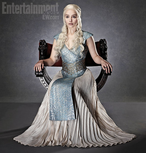Daenerys Targaryen wallpaper probably with a gown, a dinner dress, and a bridal gown titled Daenerys Targaryen (HQ)